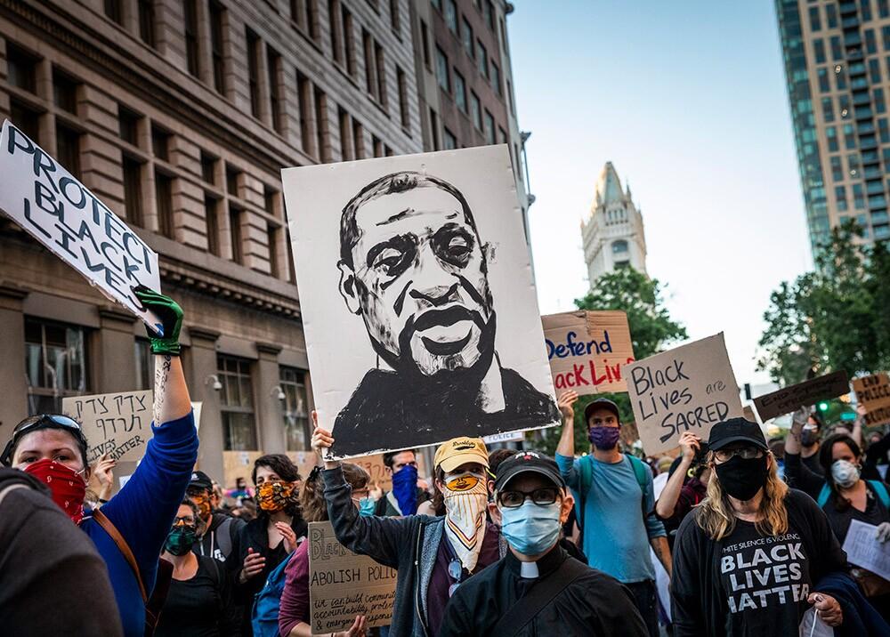 366228_Protestas por el asesinato de George Floyd // Foto: AFP