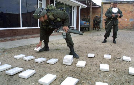 17695_Blu Radio. Referencia incautación de droga. Foto: AFP