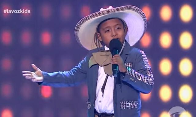 Jackson, La Voz Kids
