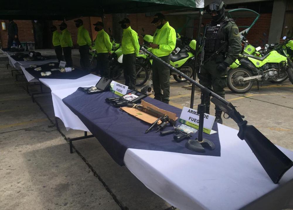 371044_Desarticulan 22 bandas de microtráfico en Bogotá - Foto BLU Radio