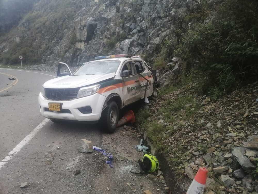 Ataque contra la Policía en Santa Fe de Antioquia.