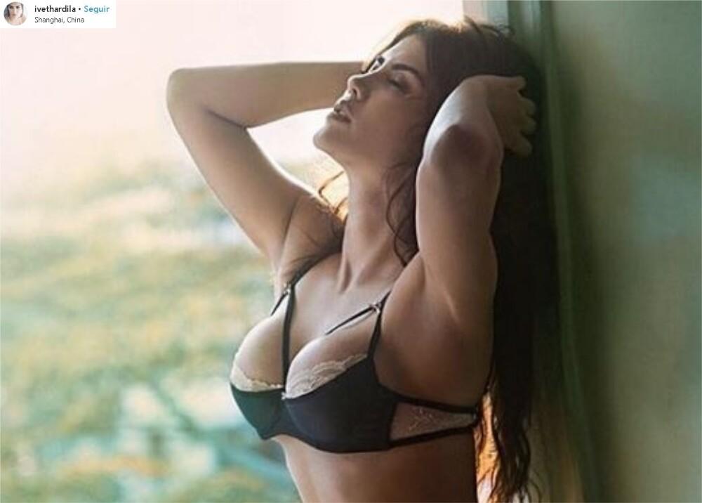 8867_La Kalle - Iveth Ardila, la sensual ex de Guarín - Foto referencia Instagram
