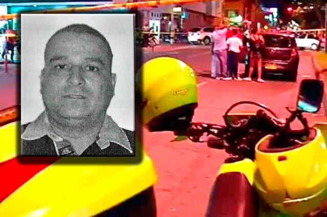 Foto: Wilson del Jesús Corrales Londoño y la escena del crimen / Fiscalía.