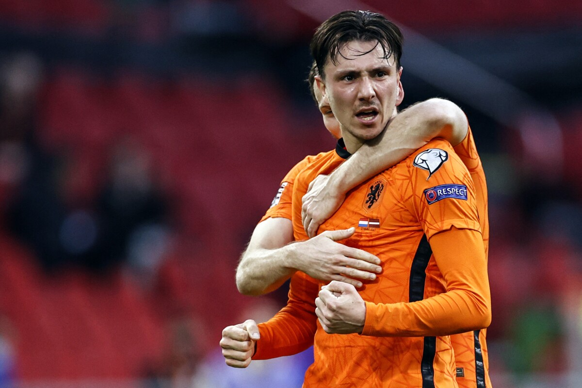 Países Bajos vence a Letonia y suma sus primeros puntos de la eliminatoria rumbo a Qatar 2022