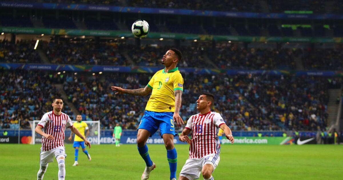 Paraguay vs Brasil EN VIVO: alineaciones, mejores jugadas y estadísticas de los jugadores