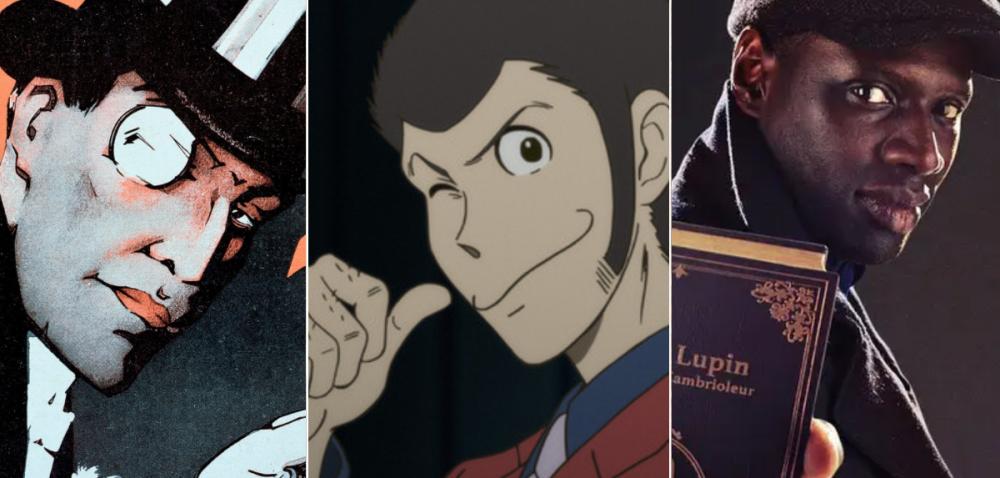 Los tres Lupin
