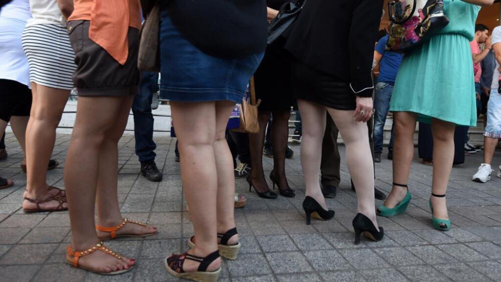 Mujeres en falda