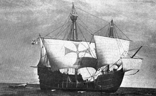 La Santamaría, barco de Cristóbal Colón en descubrimiento de América
