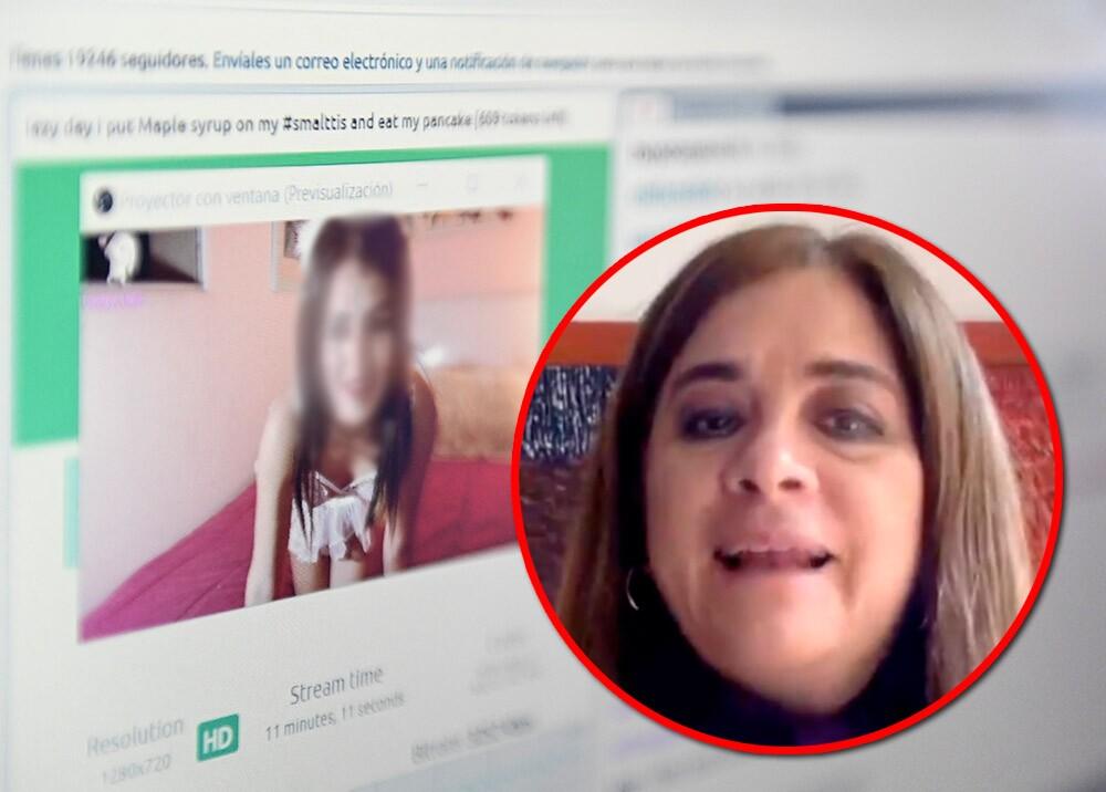 372383_Viceprocuradora Adriana Herrera - página webcam // Foto: Twitter @VPGN_COL - AFP, imagen de referencia