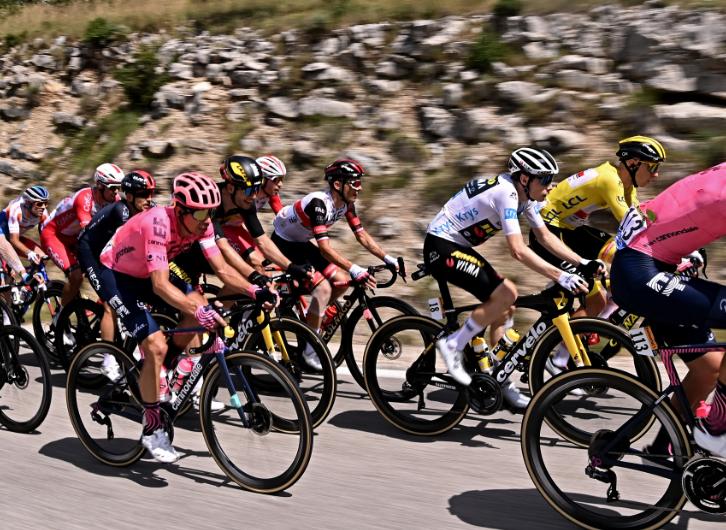 Rigoberto Urán es tercero en la general del Tour de Francia.