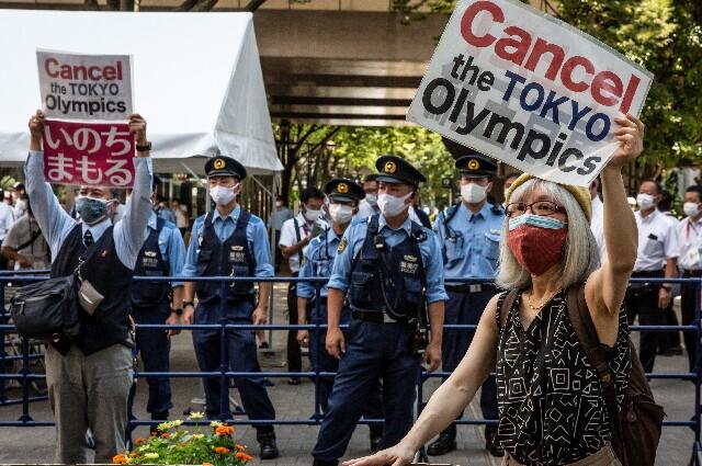 Protestas en los Juegos Olímpicos