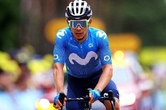 Miguel Ángel López se retiró del Tour de Francia.