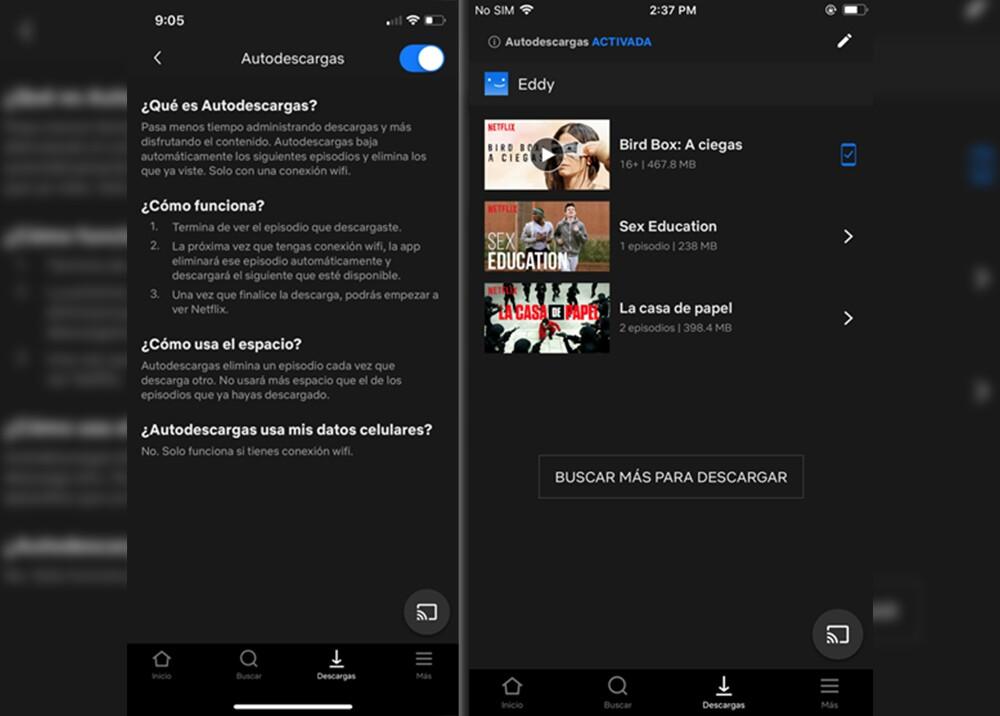 327100_BLU Radio. Netflix permite autodescarga de contenidos en iOS. Foto: Netflix