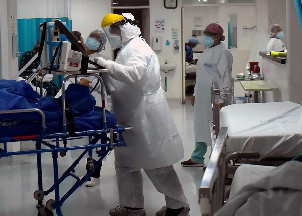 373335_Personal médico durante la pandemia en Bogotá // Foto: AFP, imagen de referencia
