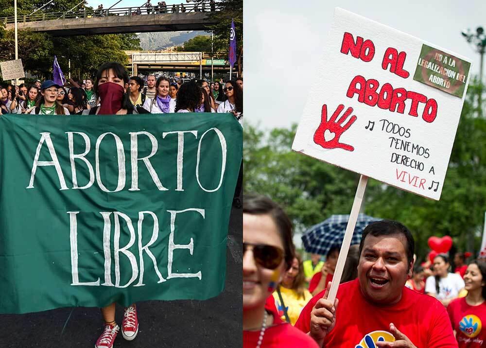 352883_Debate aborto / Foto: AFP