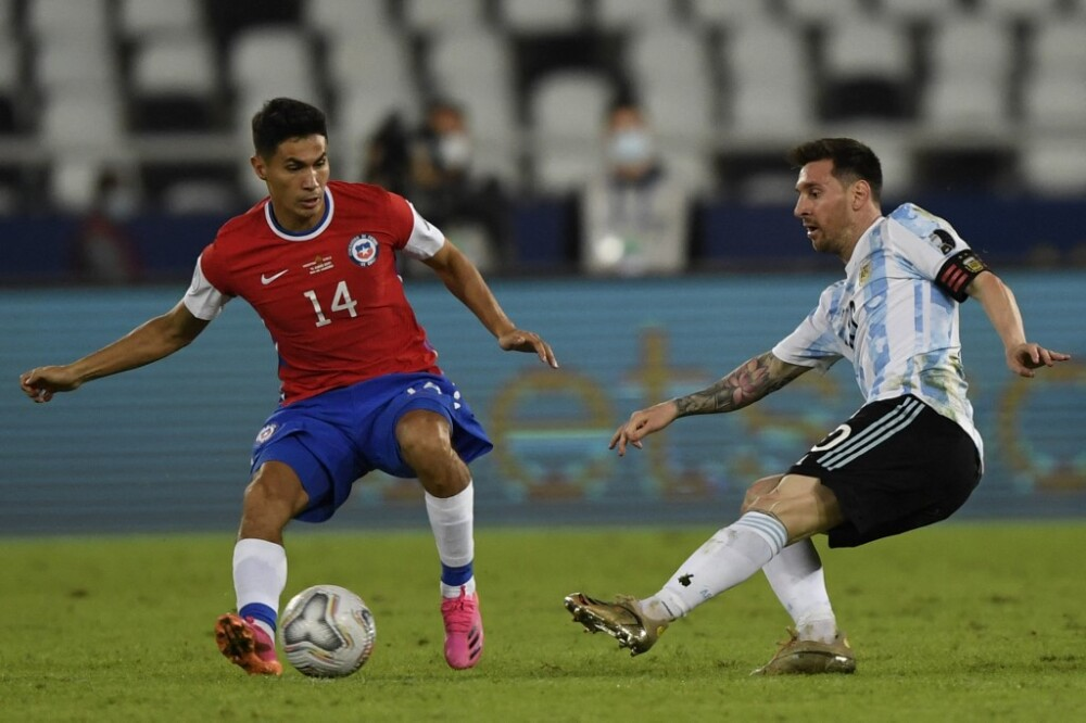 Argentina y Chile en la Copa América