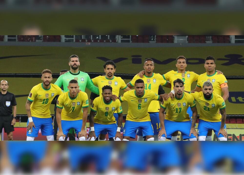Jugadores de Brasil. Foto referencia AFP.jpg
