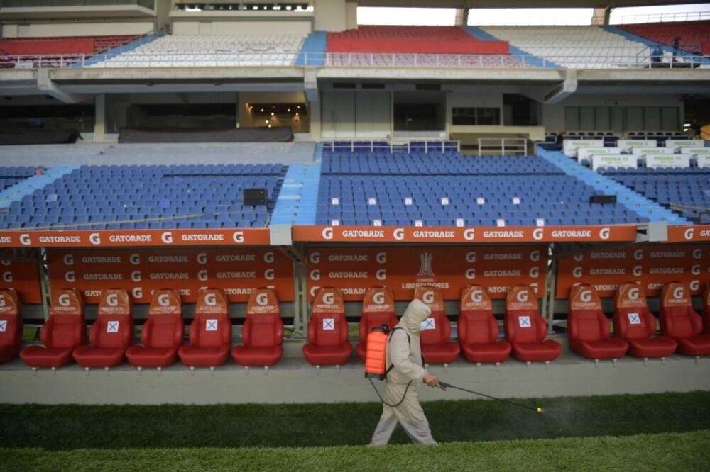 Estadios sin público