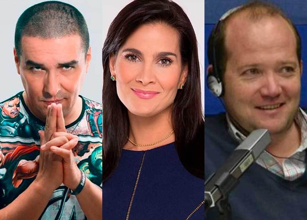 342671_BLU Radio // Amenazas a Vanessa de la Torre, Daniel Samper y 'Matador' // Fotos: BLU Radio, Facebook 'Matador', cortesía Caracol Televisión