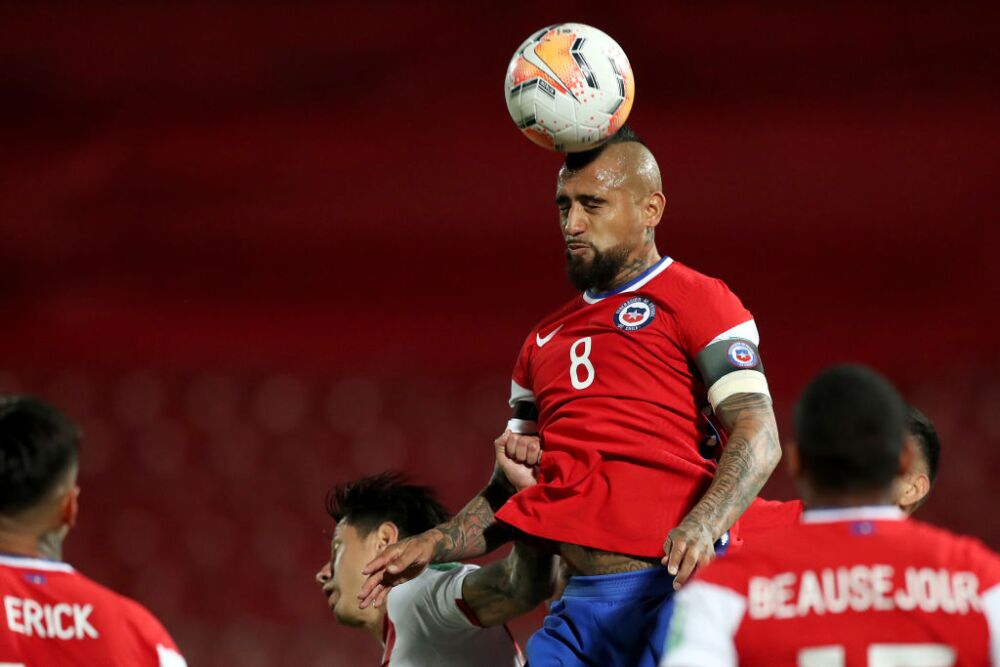 Chile v Peru - South American Qualifiers for Qatar 2022