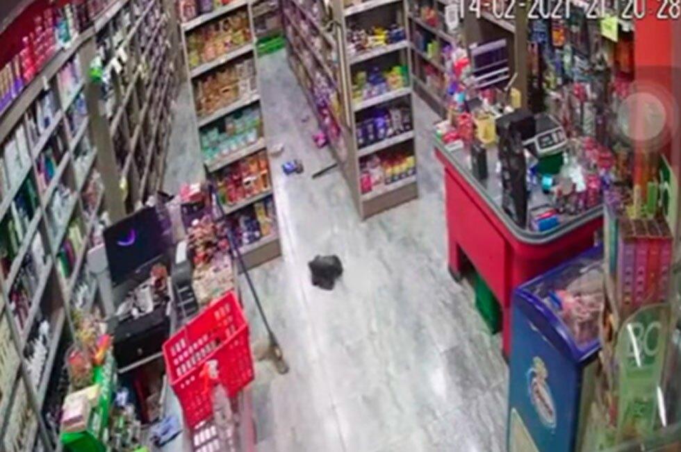 Robo supermercado Argentina