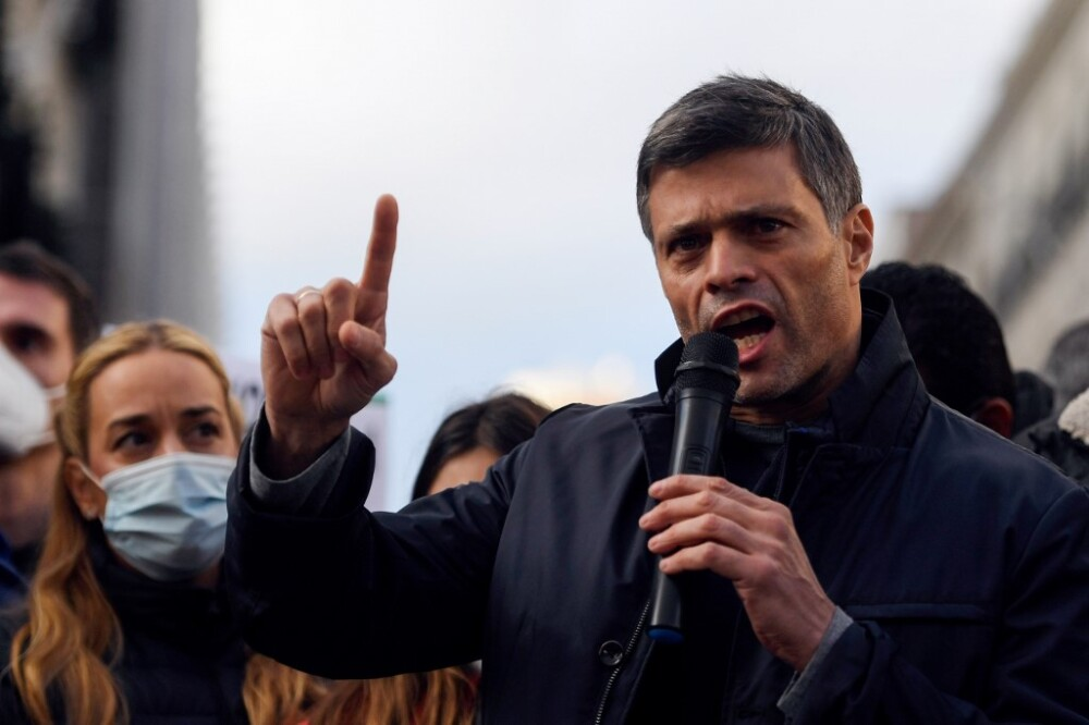 Leopoldo López. Foto AFP
