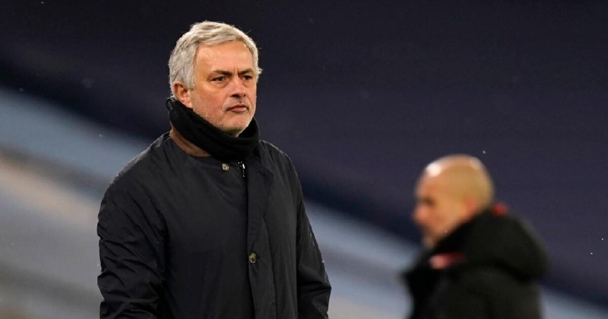 José Mourinho defendió a sus dirigidos pese a la goleada contra Manchester City