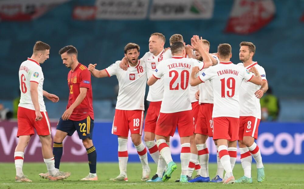 España contra Polonia