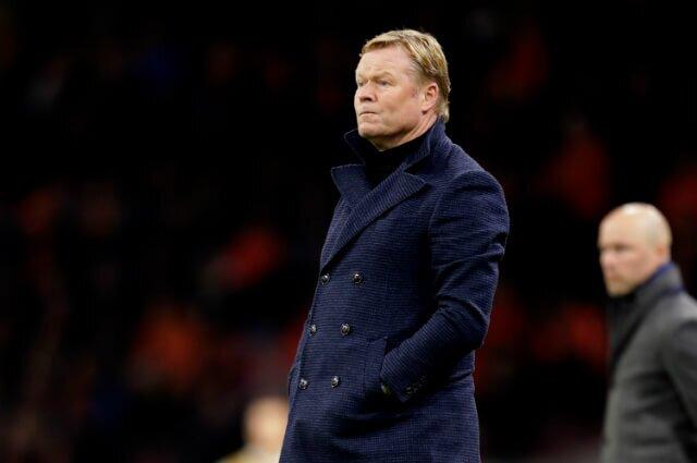 332053_Ronald Koeman, técnico Selección Holanda