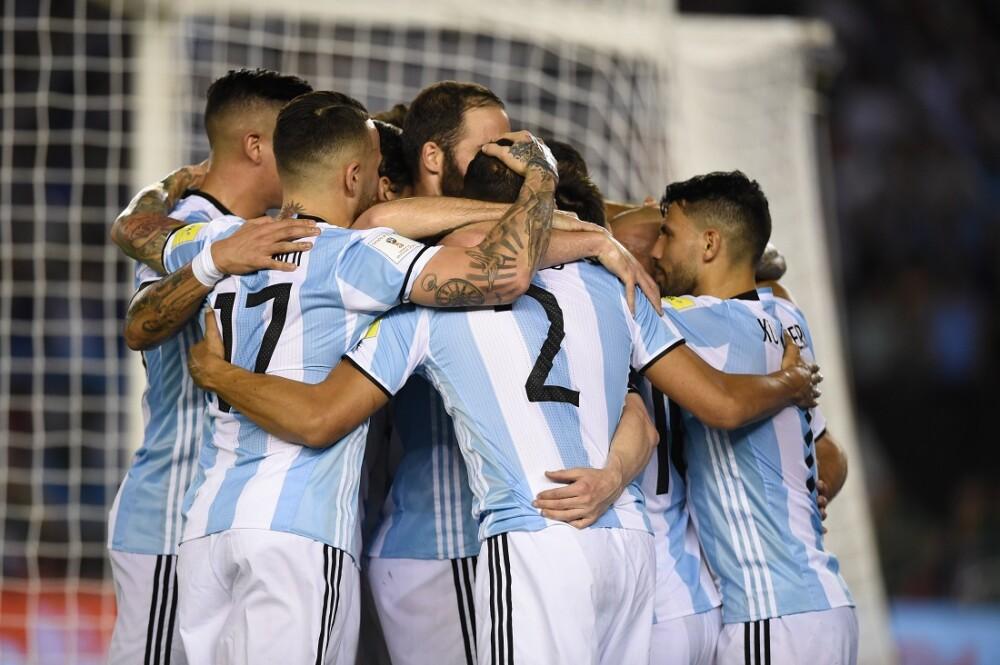 280697_BLU Radio. Selección Argentina Eliminatorias. Foto: AFP