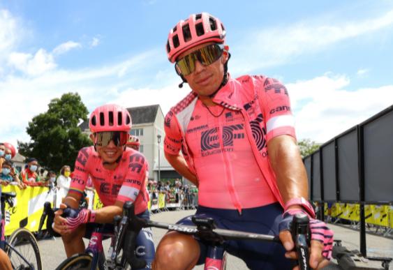 Rigoberto Urán es cuarto en la general del Tour de Francia.