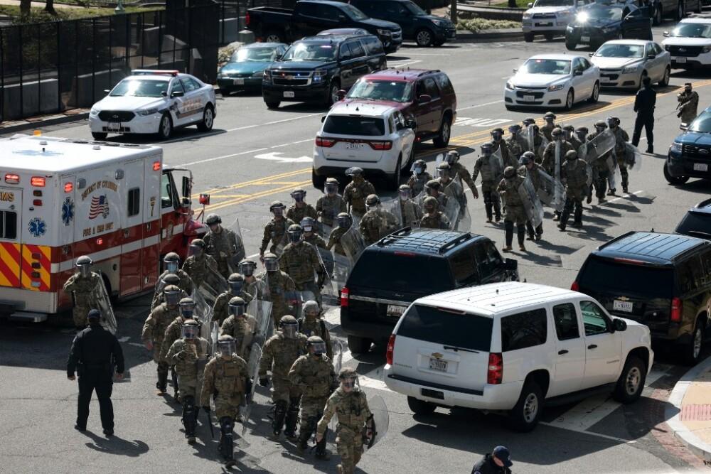 policías atropellados en el capitolio de Estados Unidos