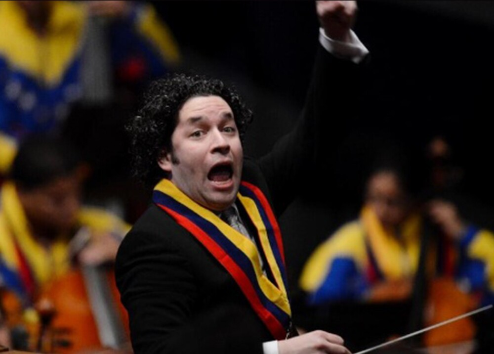 169216_BLU Radio, Gustavo Dudamel / Foto: AFP