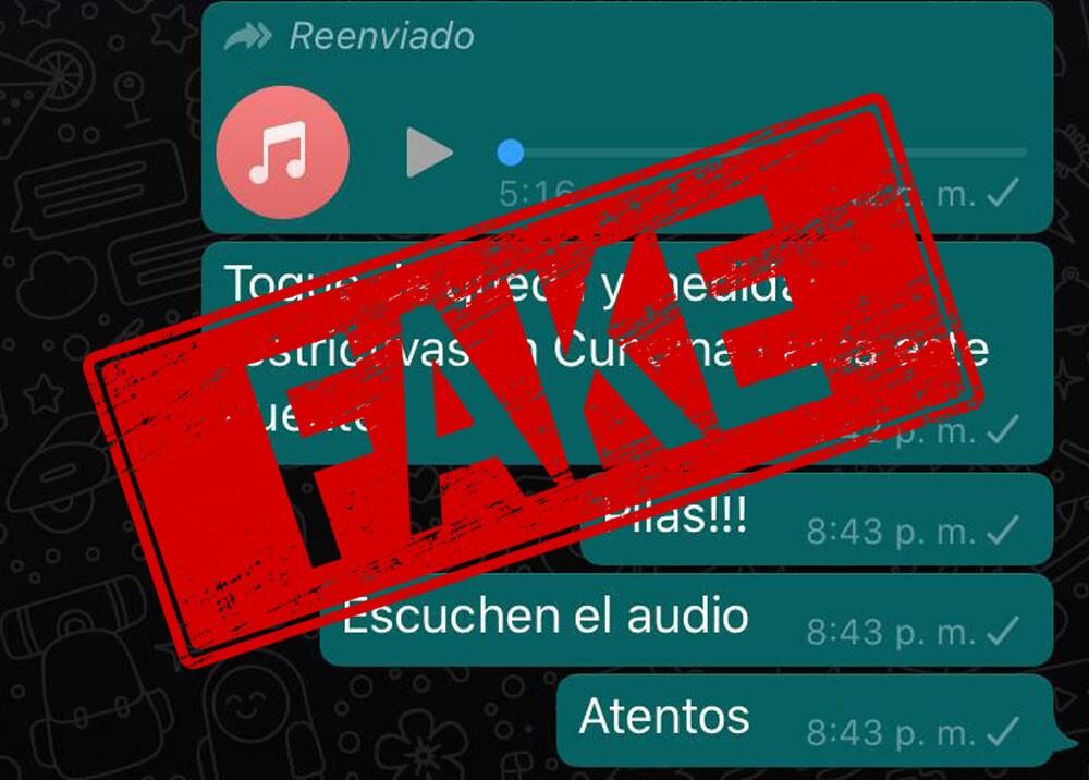 Fake news restricciones en Cundinamarca. Foto BLU Radio