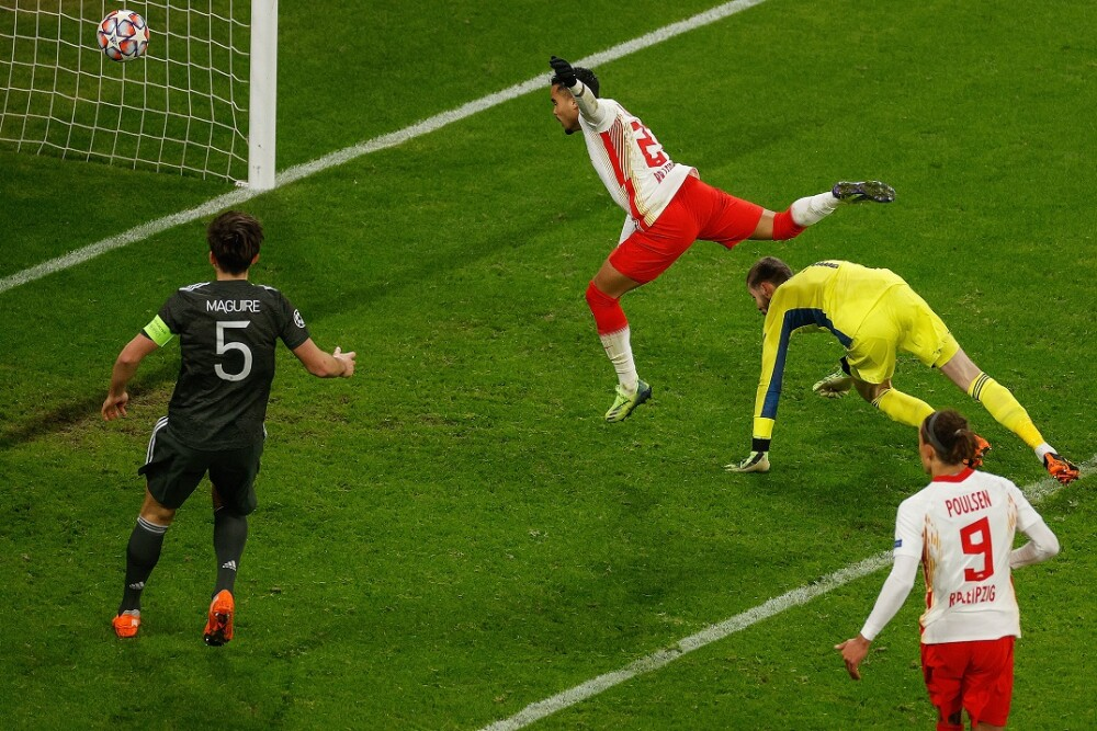 Leipzig vs. Manchester United. Foto: AFP