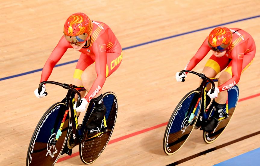 China ganó el oro en la velocidad por equipos de los Juegos Olímpicos Tokio 2020.