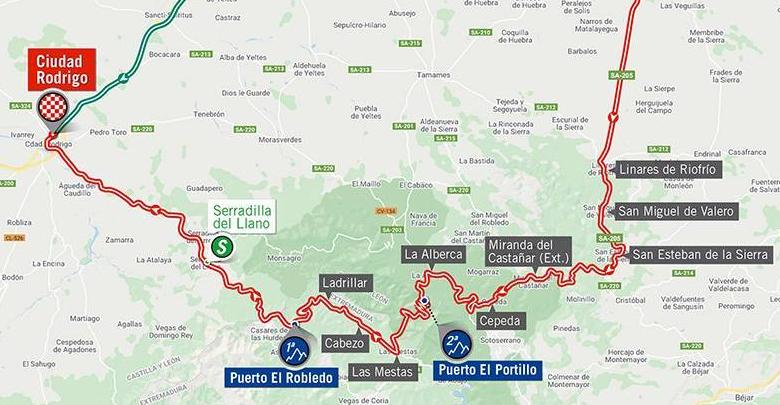 Así será la etapa 16 de la Vuelta a España 2020.