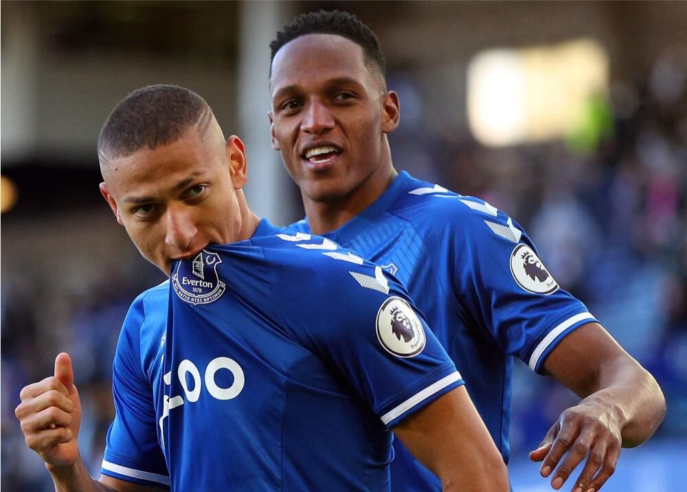 Everton Yerry Mina aFP.