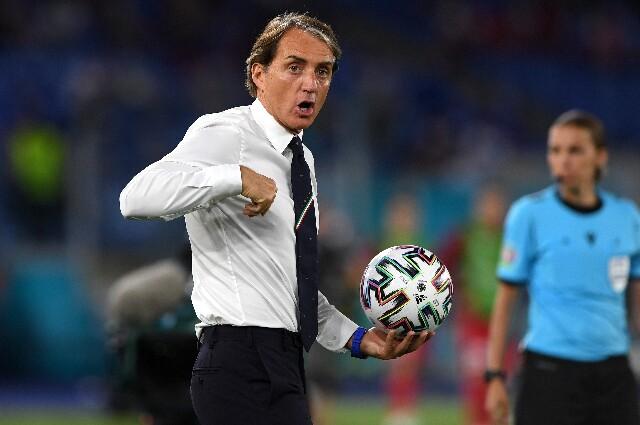 Roberto Mancini tras Turquía vs. Italia