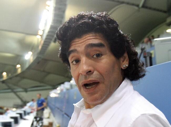 diego maradona familia_afp.jpg