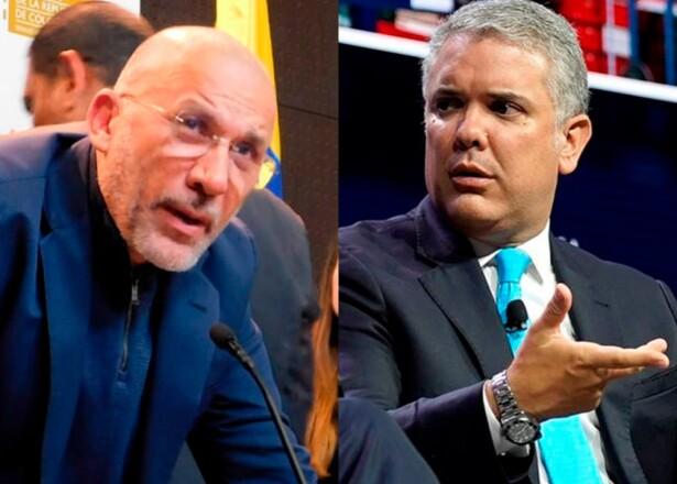 Roy Barreras - Iván Duque : Fotos: Senado de la República - AFP.jpeg