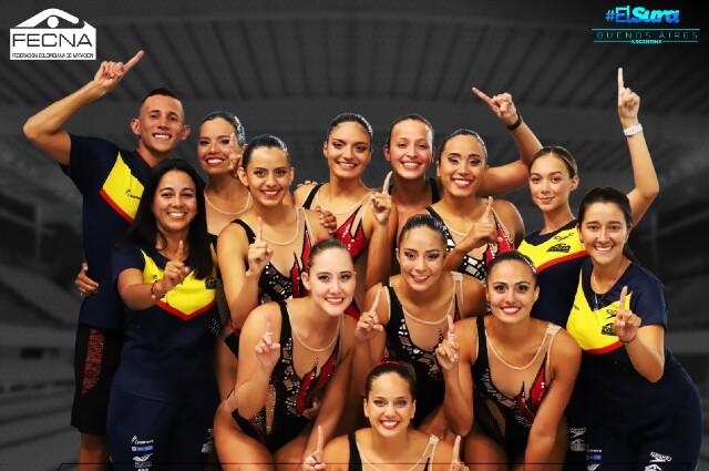 Selección Colombia de natación artística