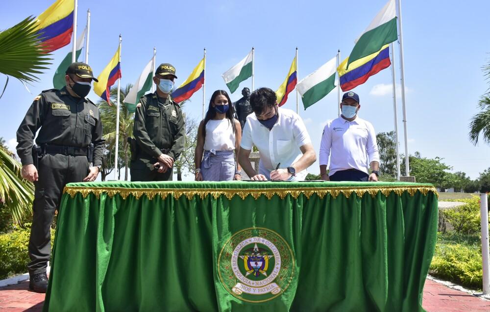 Alcalde Pumarejo Policía