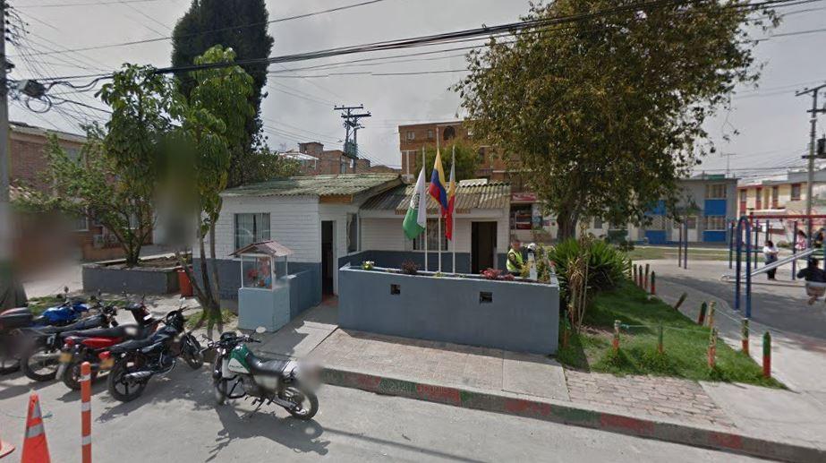 estación de policia soacha. Foto: Google Maps