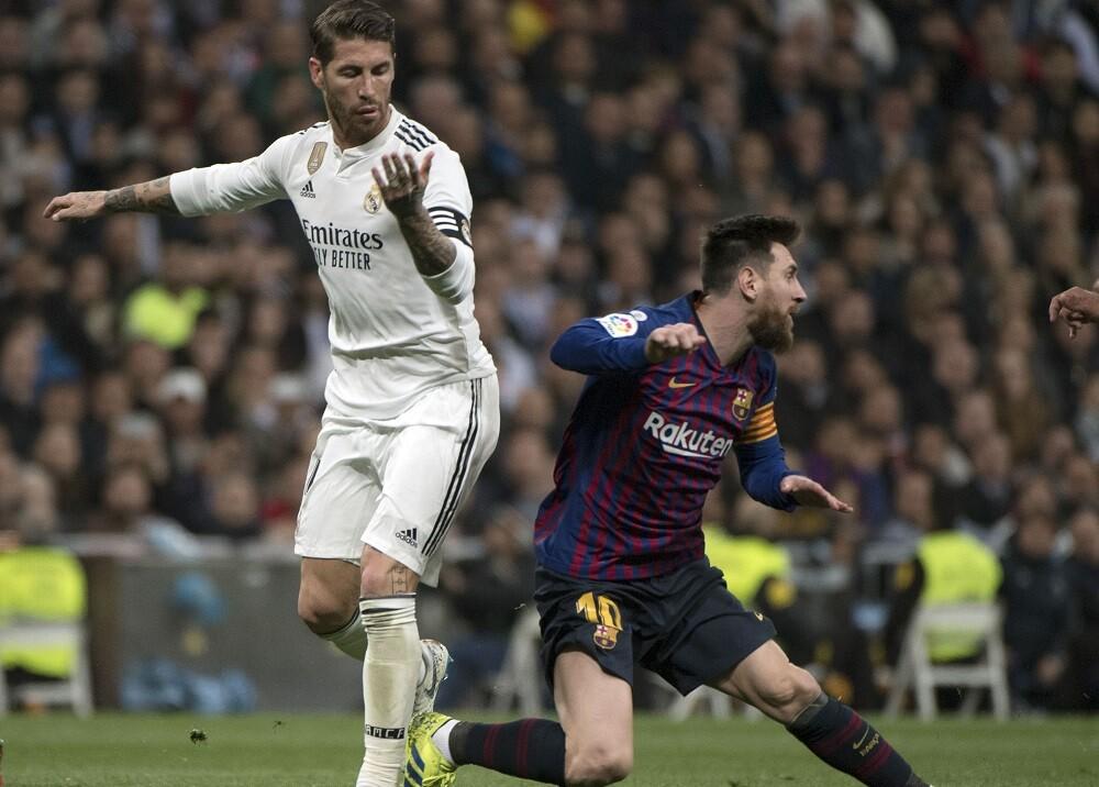 346068_Sergio Ramos y Lionel Messi // Foto: AFP