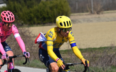 Sergio Higuita fue noveno en la etapa 2 de la Vuelta al País Vasco. Getty Images.