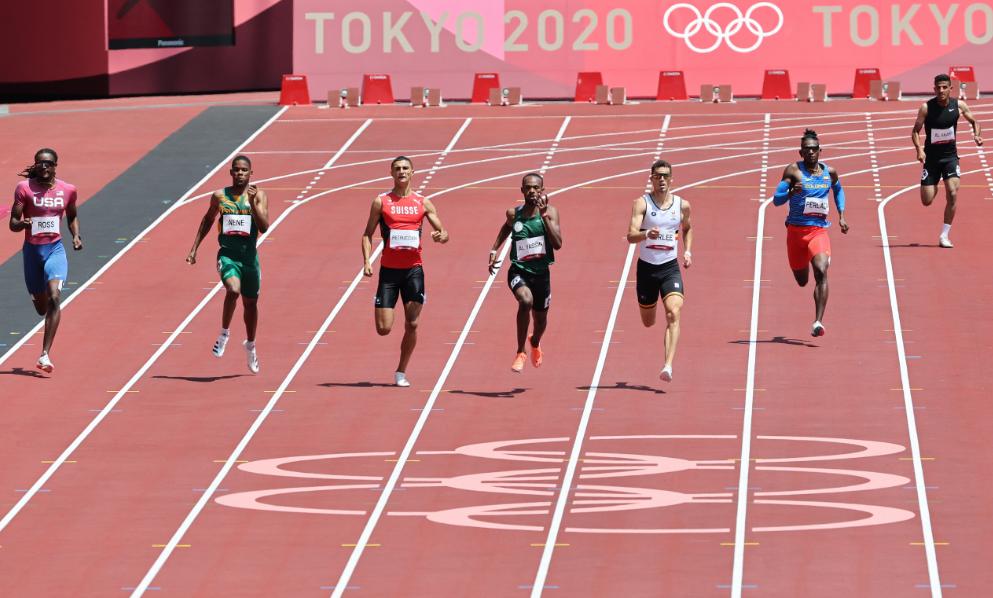 Alejandro Perlaza fue eliminado de los 400 metros de los Juegos Olímpicos de Tokio 2020.