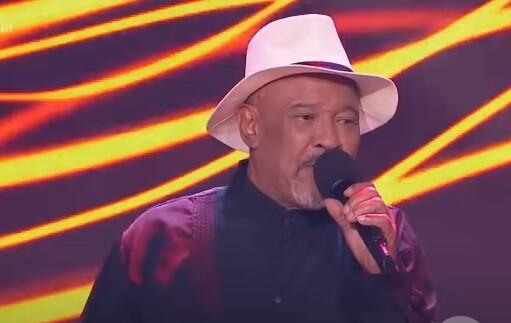 Gabino Pampini en La Voz Senior