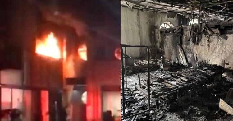 Incendio en Hospital de Villavicencio