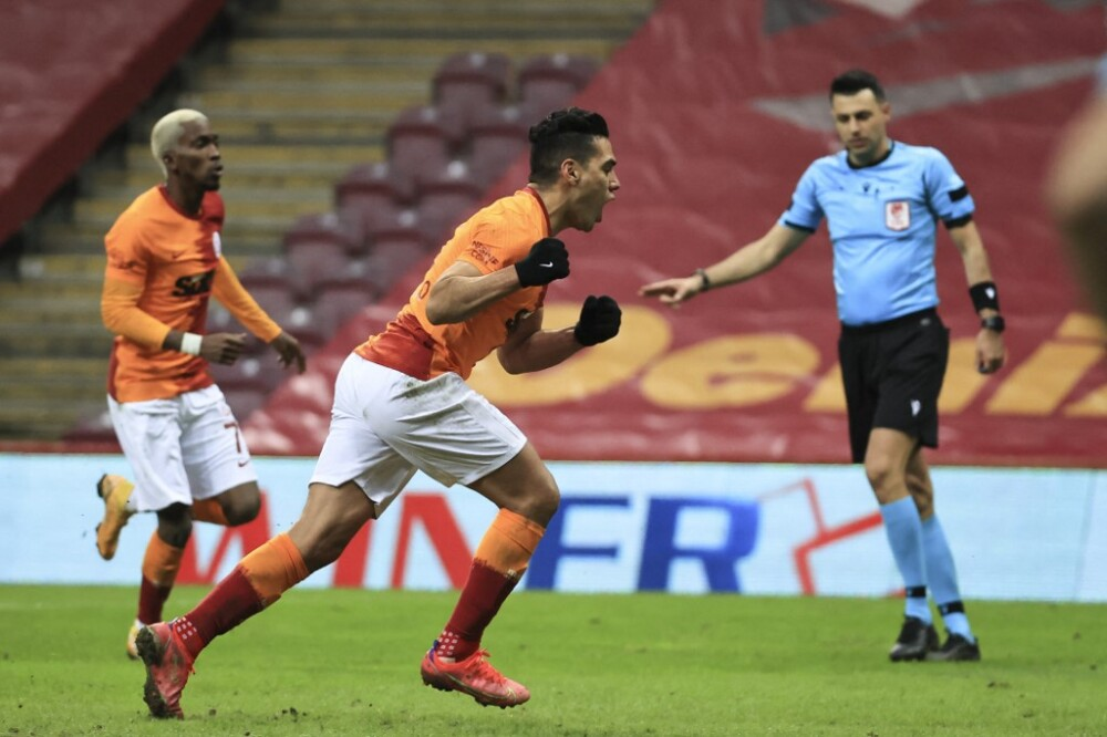 Falcao García - Galatasaray v Demir Grup Sivasspor - Turkish Super Lig